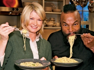"""Italian with T, and failing fast, are Good Things"" - Martha Stewart"